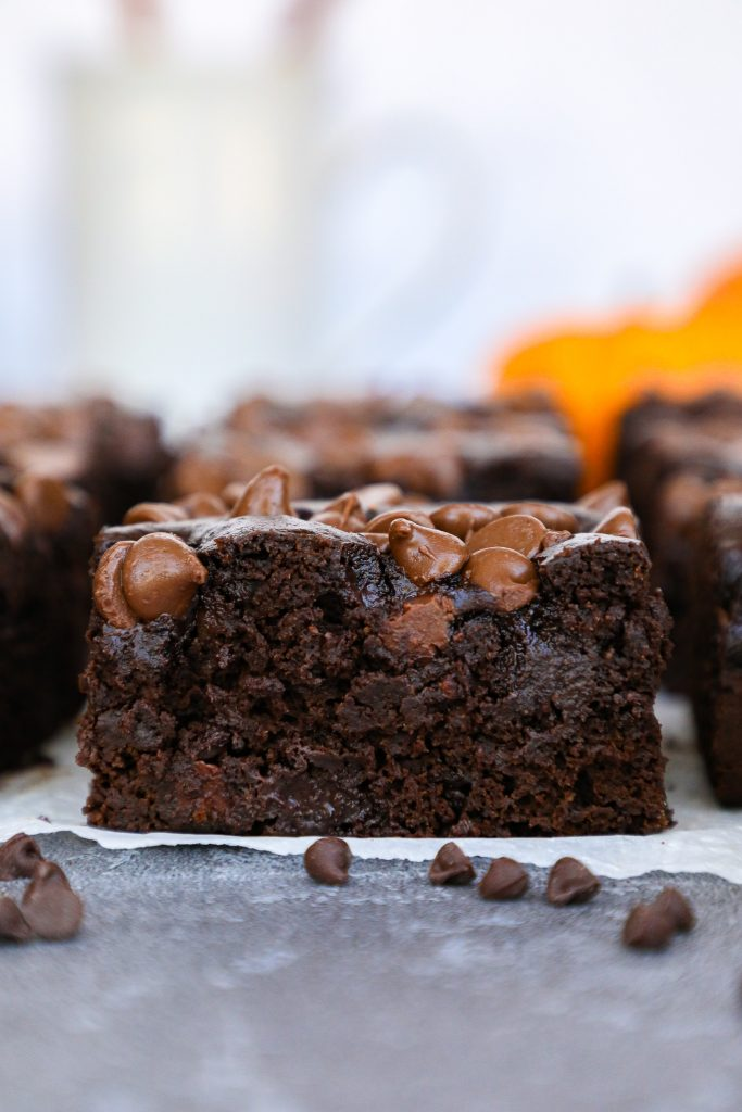Simple, easy and good for you too! You just can't beat these double chocolate chip brownies and no one will ever guess they're loaded with veggies too!