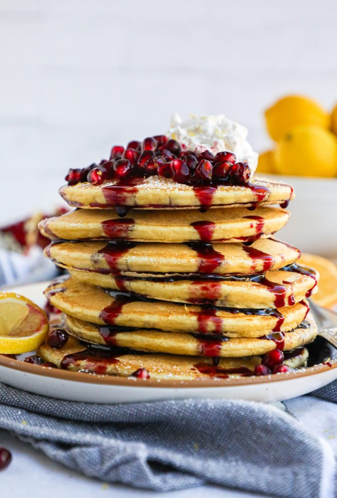 A simple pancake recipe that's fast and delicious! This breakfast time treat will become a family favorite in no time!