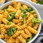 A delicious healthier version of your favorite macaroni and cheese! It's made with no flour, no butter and only requires 6 ingredients!