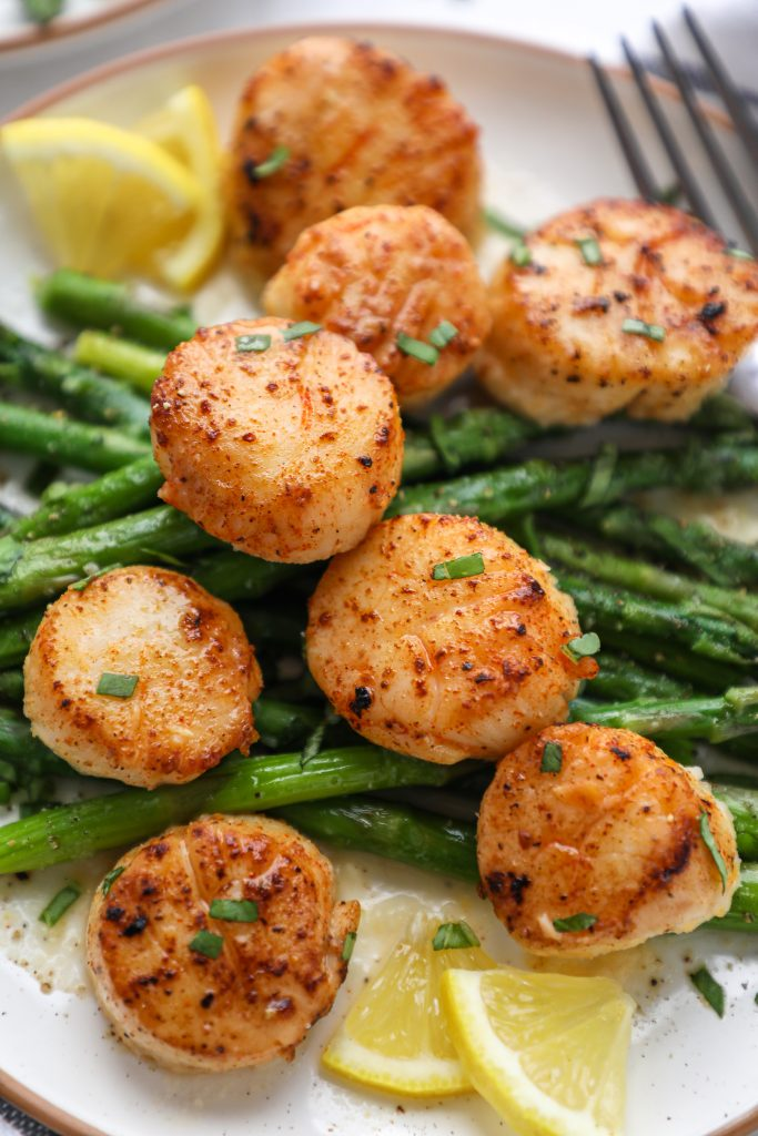 Sweet, delicate and so tender too! This is the easiest scallop recipe you'll find that comes out perfectly pan seared every time! Plus they're great for a fancy celebratory dinner too!