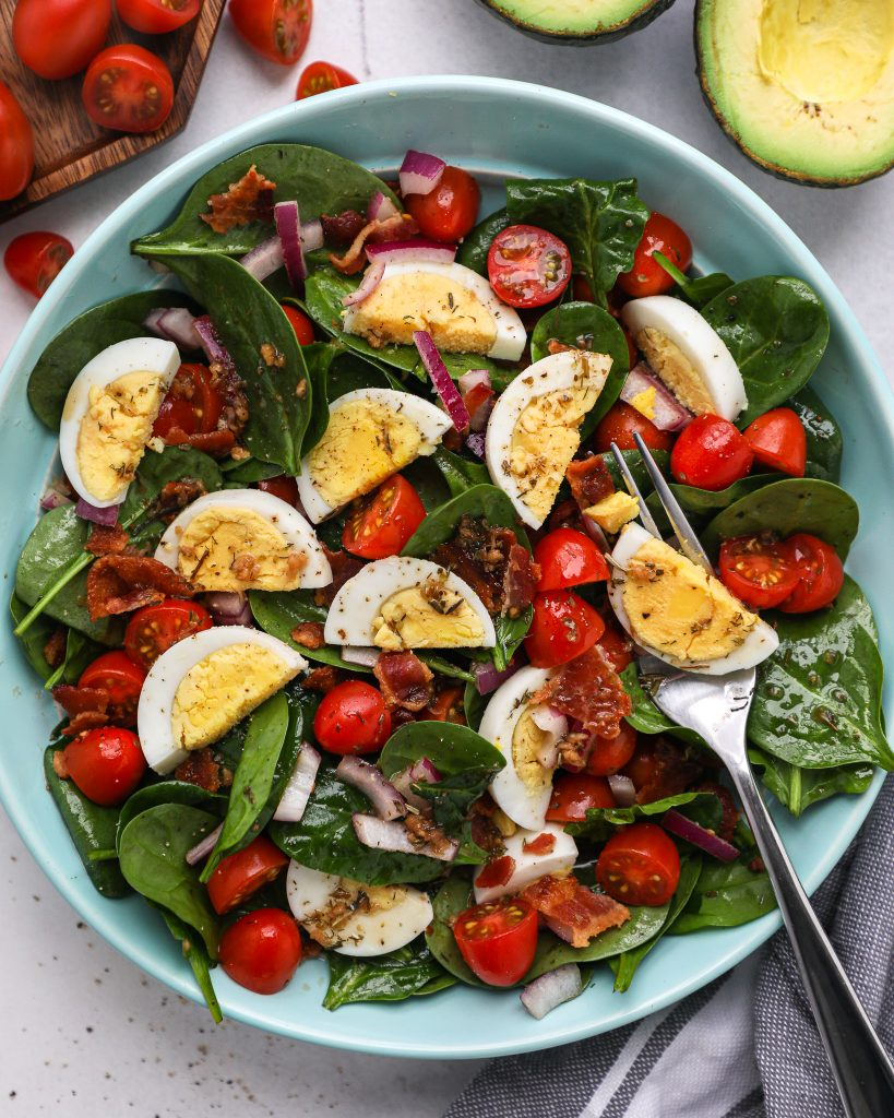 A delicious side salad that pairs perfectly with any protein you serve for dinner! Plus it's also great for serving a crowd and is always a family favorite!