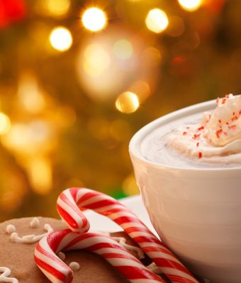 Warm and cozy hot chocolate for an anxiety free holiday season